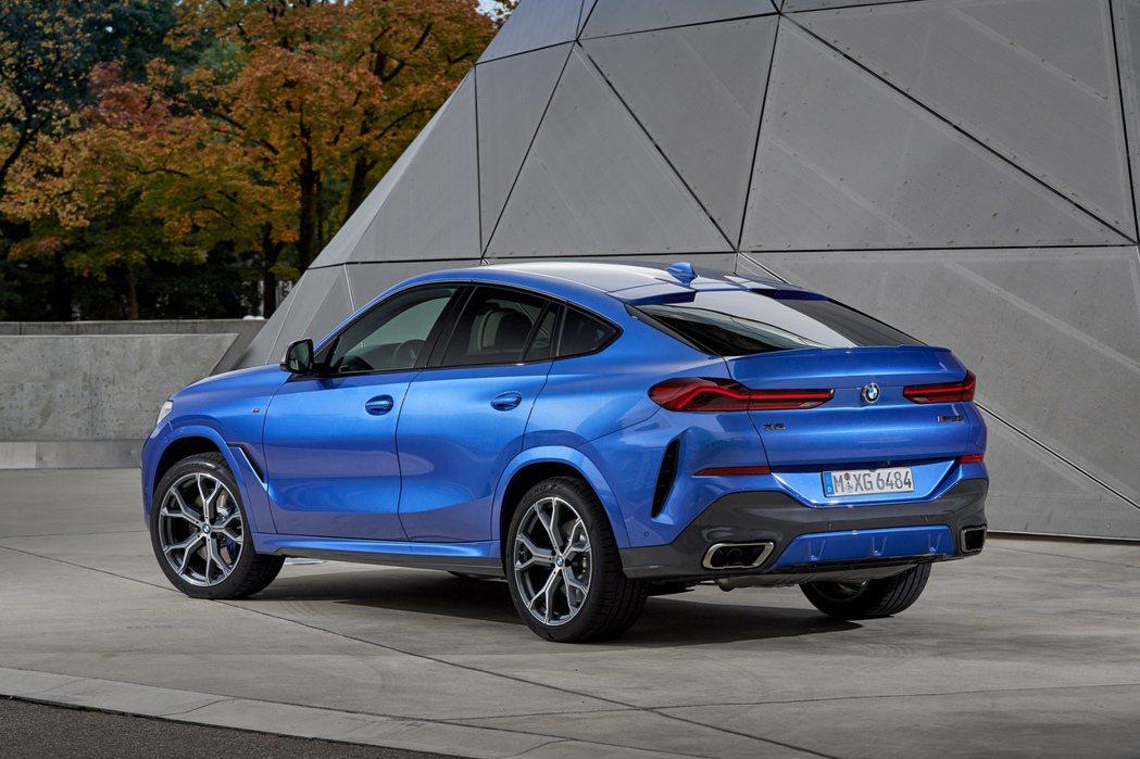 全新第三代BMW X6 (G06)。 摘自BMW