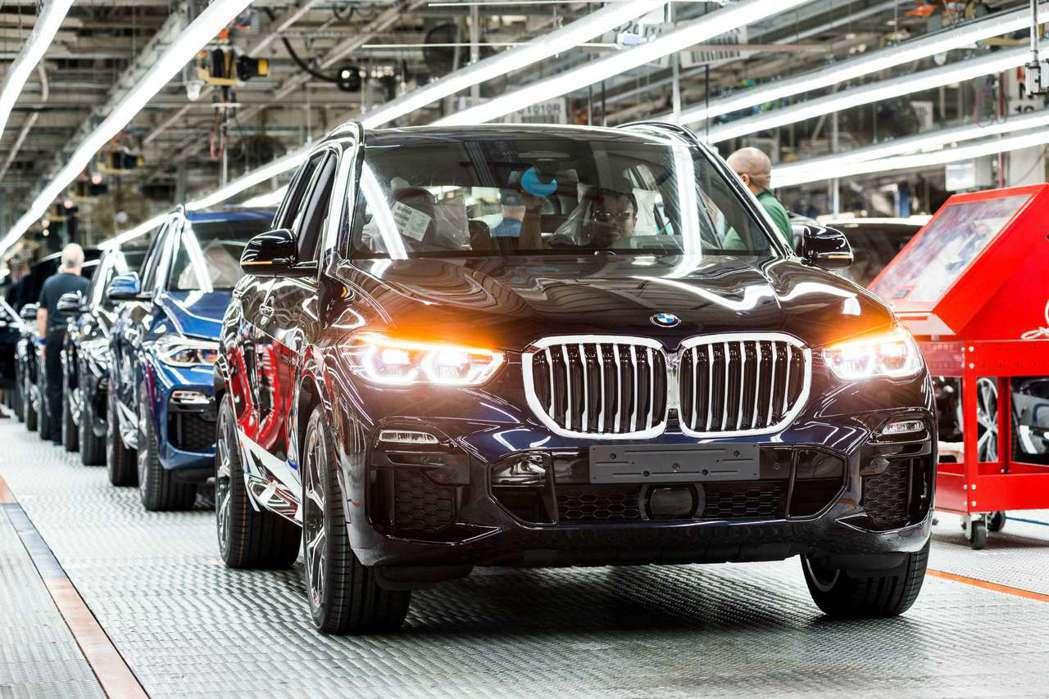 BMW位於美國南卡羅萊納州的Spartanburg工廠,在2019年達到年產41...