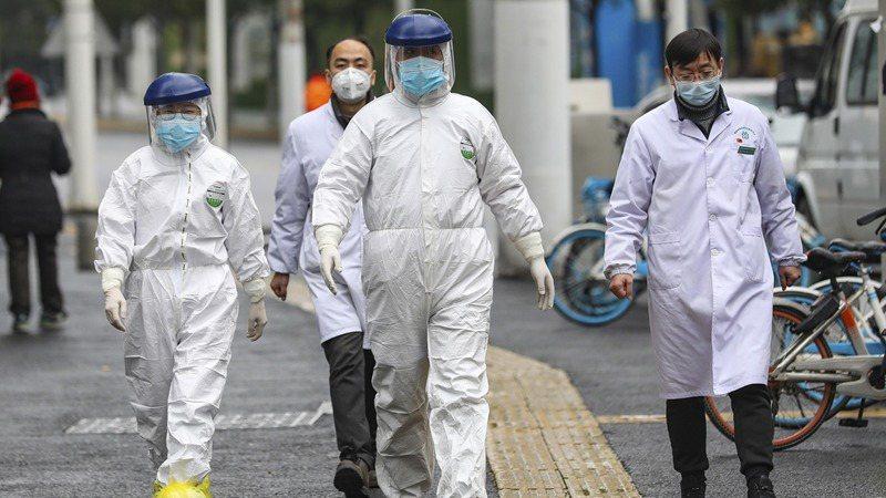 新型冠狀病毒疫情持續擴散。 (美聯社)
