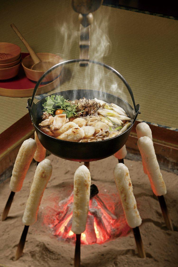 米棒鍋為秋田冬季代表性鄉土料理。圖/JR東日本提供
