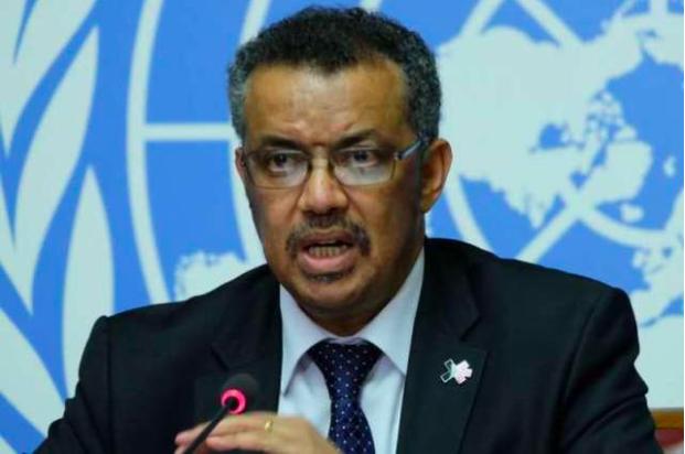 世界衛生組織總幹事譚德塞。圖翻攝自聯合國網站照片