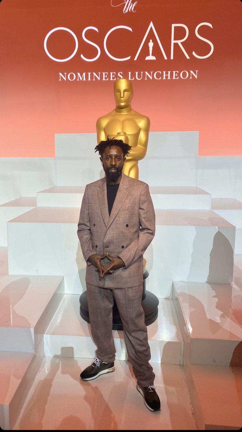 「悲慘世界」導演拉德利正在美國參加奧斯卡金像獎的各項活動,備受推崇。圖/海鵬提供