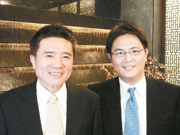 豐興林大鈞(右)