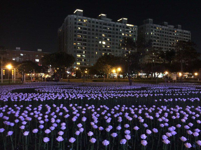 桃園燈會31日登場,明天試燈。圖/桃園市政府觀光旅遊局提供