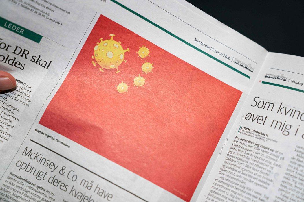 「日德蘭郵報」刊出爭議性圖片後引發中國憤怒抗議,中國駐丹麥大使館發布聲明指控這張改圖「侮辱中國」,「傷害中國人民感情」且踰越「言論自由的道德界線」,要求報社向中國人民公開道歉。法新