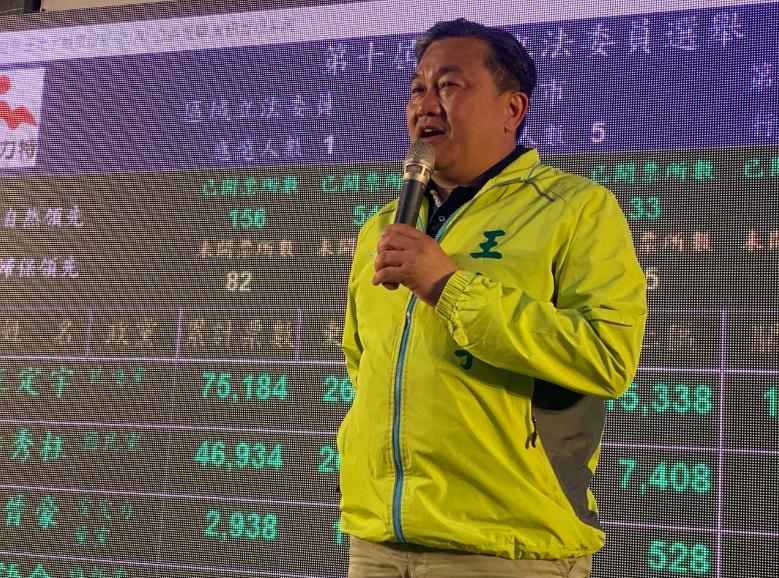 民進黨立委王定宇。本報資料照片