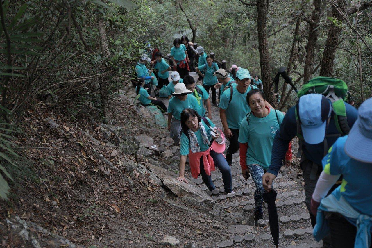 位在台中市梨山的捎來步道。照片/參山國家風景區管理提供