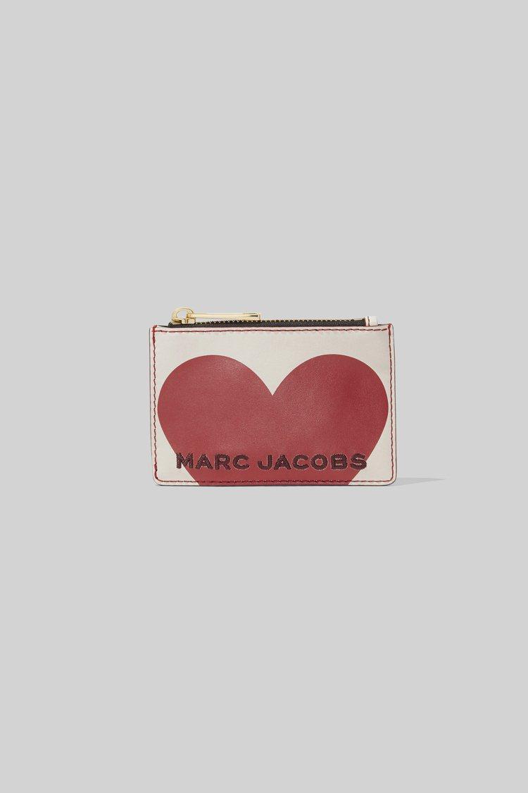嵌入你心(Heart Intarsia)系列零錢包,5,290元。圖/Marc ...