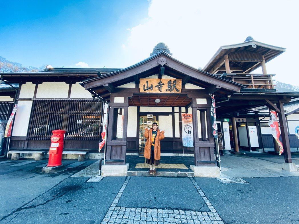 愛紗很推薦大家可以搭電車到仙台相當著名的立石寺。圖/愛紗提供