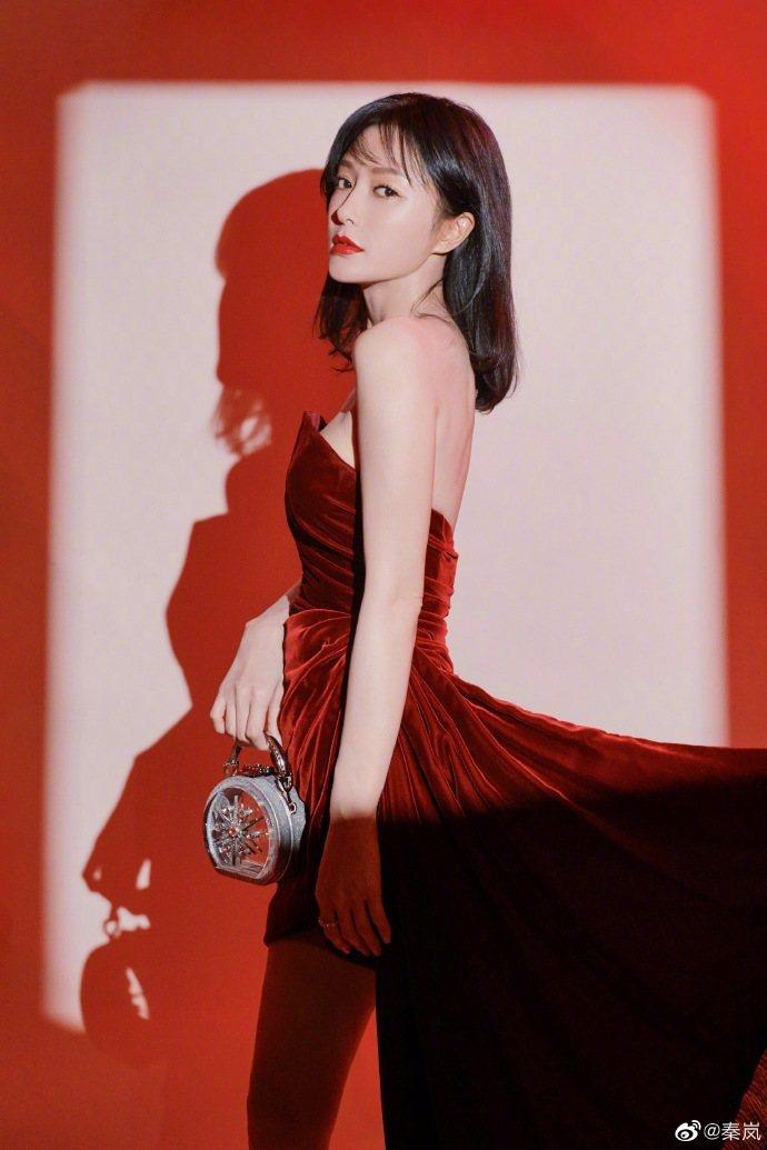 秦嵐主演的新戲傳出暫停拍攝。圖/摘自微博