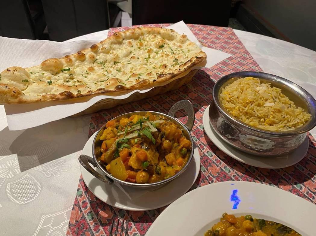 印度素美食。圖/彭啟明提供