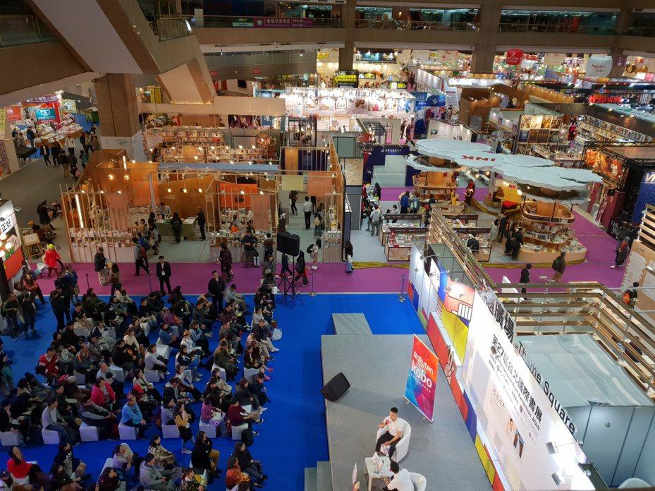 台北國際書展近年每年擁有逾五十萬人次參展。記者陳宛茜/攝影