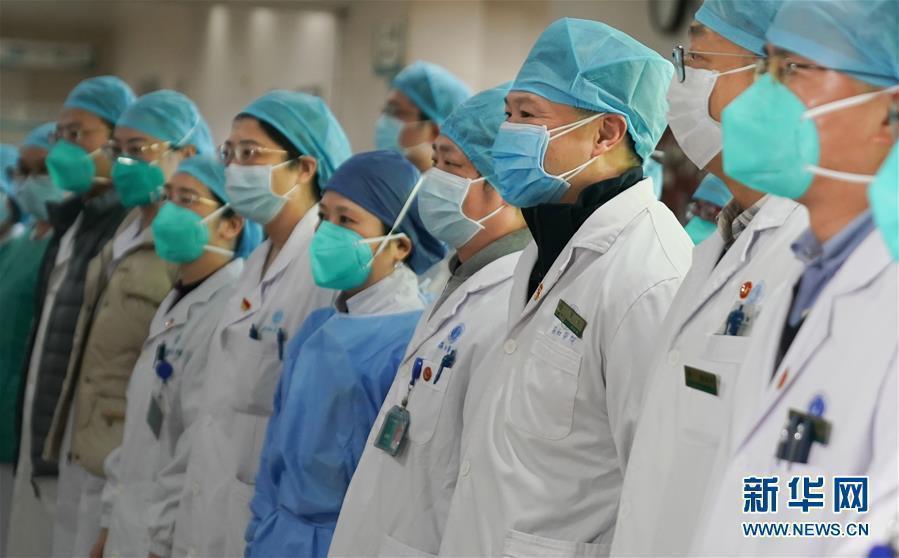 大陸武漢肺炎疫情日增。圖/取自新華網