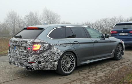 BMW沒打算再推出M5 Touring 那不如就買Alpina B5 Biturbo Touring吧!