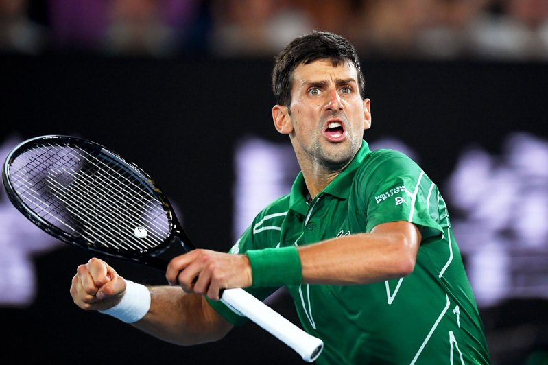 圖為塞爾維亞網球名將喬科維奇(Novak Djokovic)。 歐新社