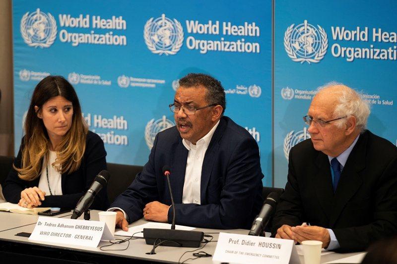 1月23日,世衞決定暫不針對2019新冠狀病毒宣告「國際公共衞生緊急事件」。 圖/路透社