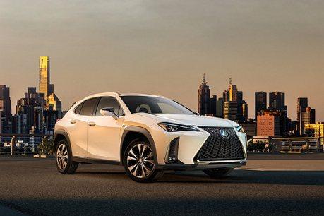 Lexus在美國市場靠UX撐場?2019銷售總量小跌、SUV級距卻大漲