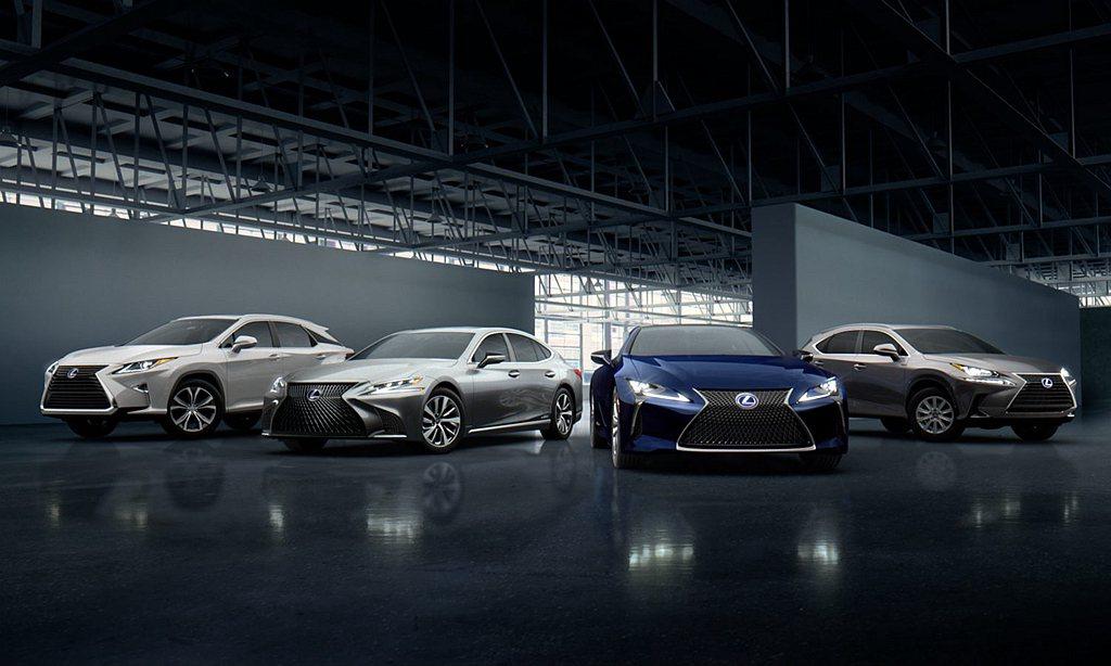 Lexus汽車於美國市場2019年共賣出298,114輛成績,比2018年微幅衰...