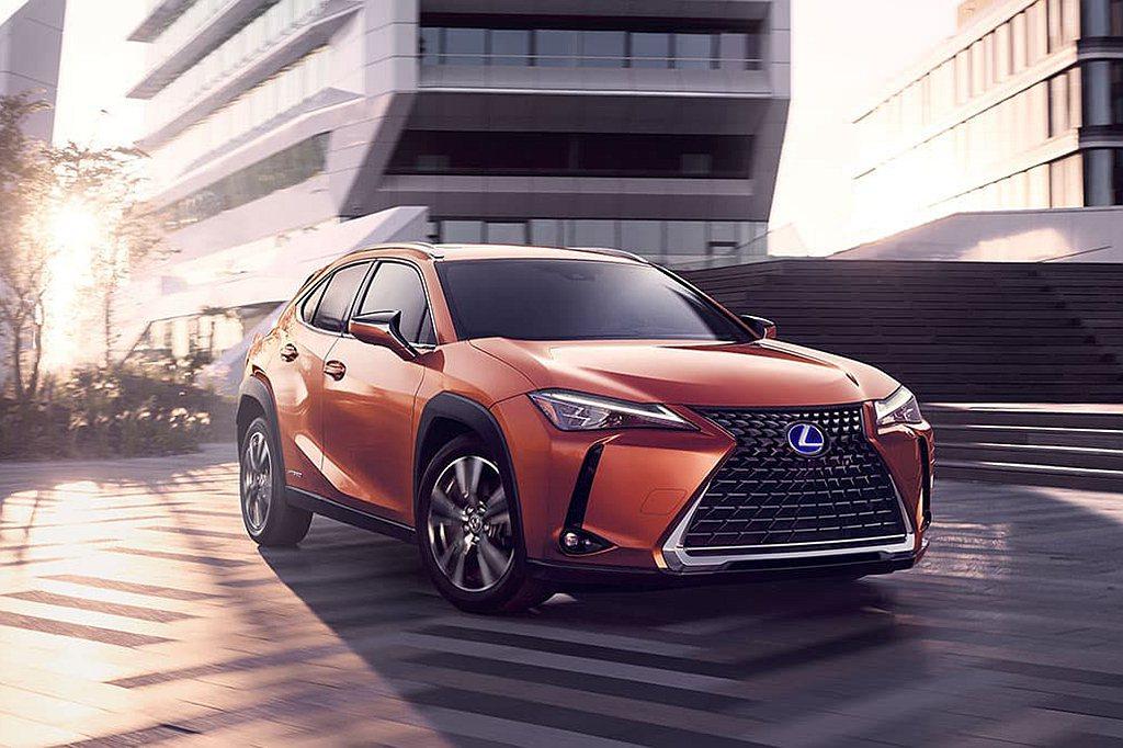 Lexus UX自2018年的453輛成長至2019年1.6萬輛銷售總量,成功拉...