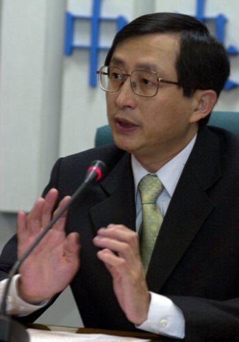 SARS時期健保局總經理張鴻仁。記者吳景騰/攝影