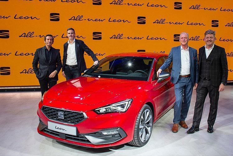全新第四代SEAT Leon於巴塞隆納 Martorell發表。 圖/SEAT提...