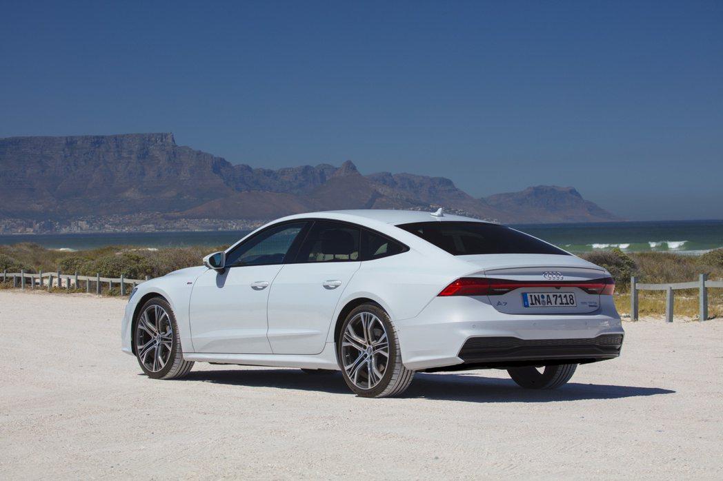 全新第二代Audi A7 Sportback去年的銷量亦有所成長。 摘自Audi
