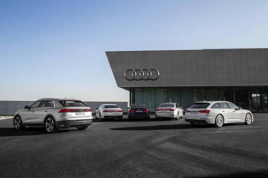 Audi在2019年全球總銷量達到約1,845,550輛,相較於2018年小幅增...