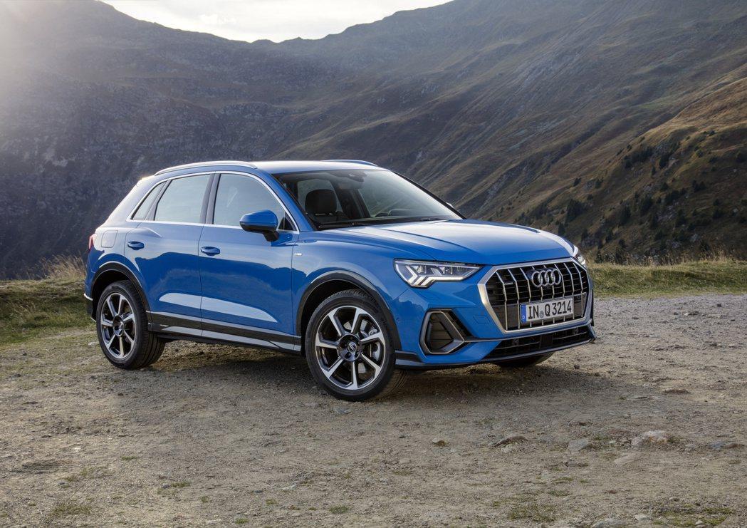 全新第二代Audi Q3去年在歐洲銷量成長了55%。 摘自Audi