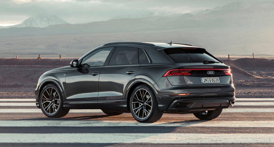 Audi首款跑格休旅Q8。 摘自Audi