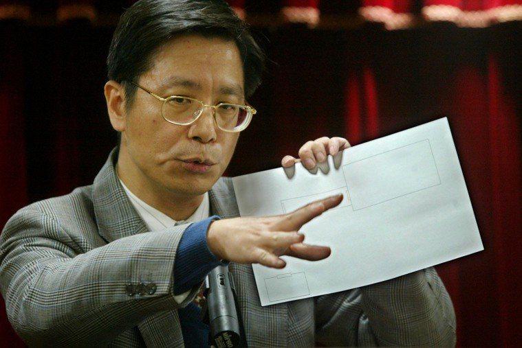 時任台大醫院感染科主任張上淳 報系資料照 記者陳再興/攝影
