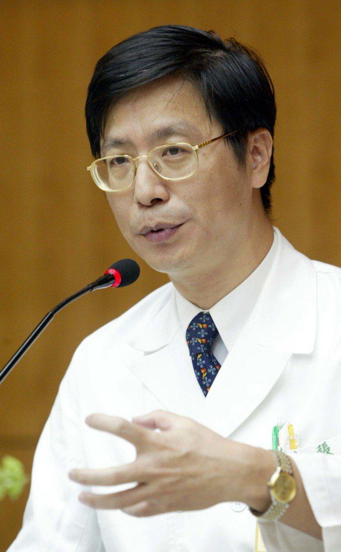 時任台大醫院感染科主任張上淳 報系資料照 記者陳易辰/攝影