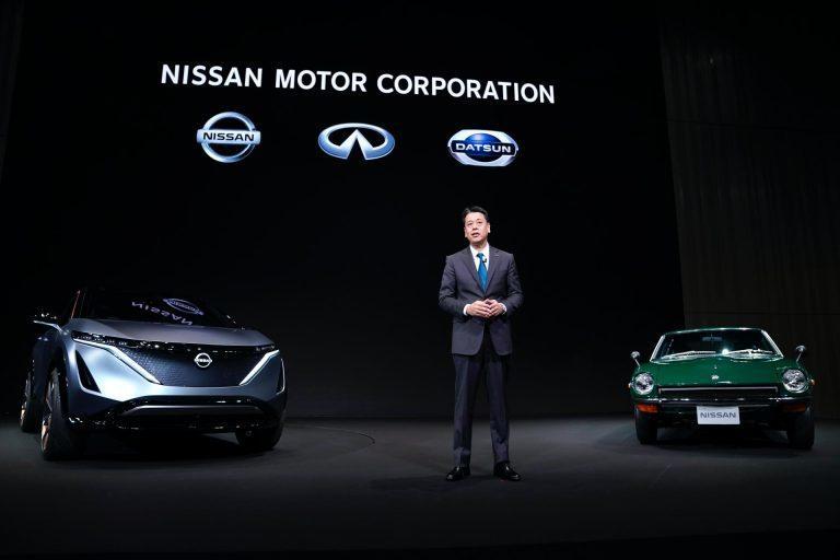 日產汽車現任執行長內田誠(Uchida Makoto)。 圖/Nissan提供