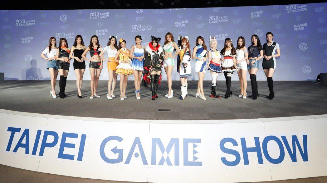 2020台北電玩展。 彭子豪/攝影