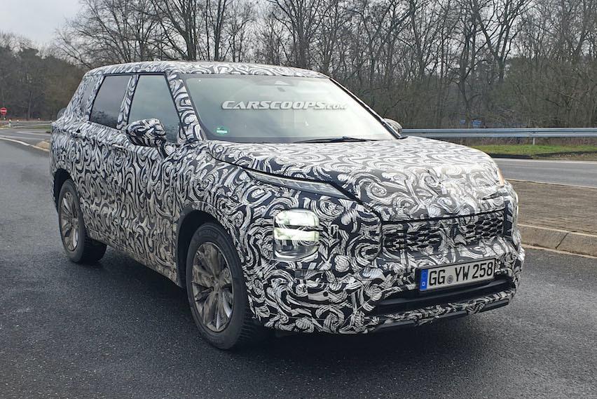新世代Mitsubishi Outlander歐洲露出 外觀超前衛!