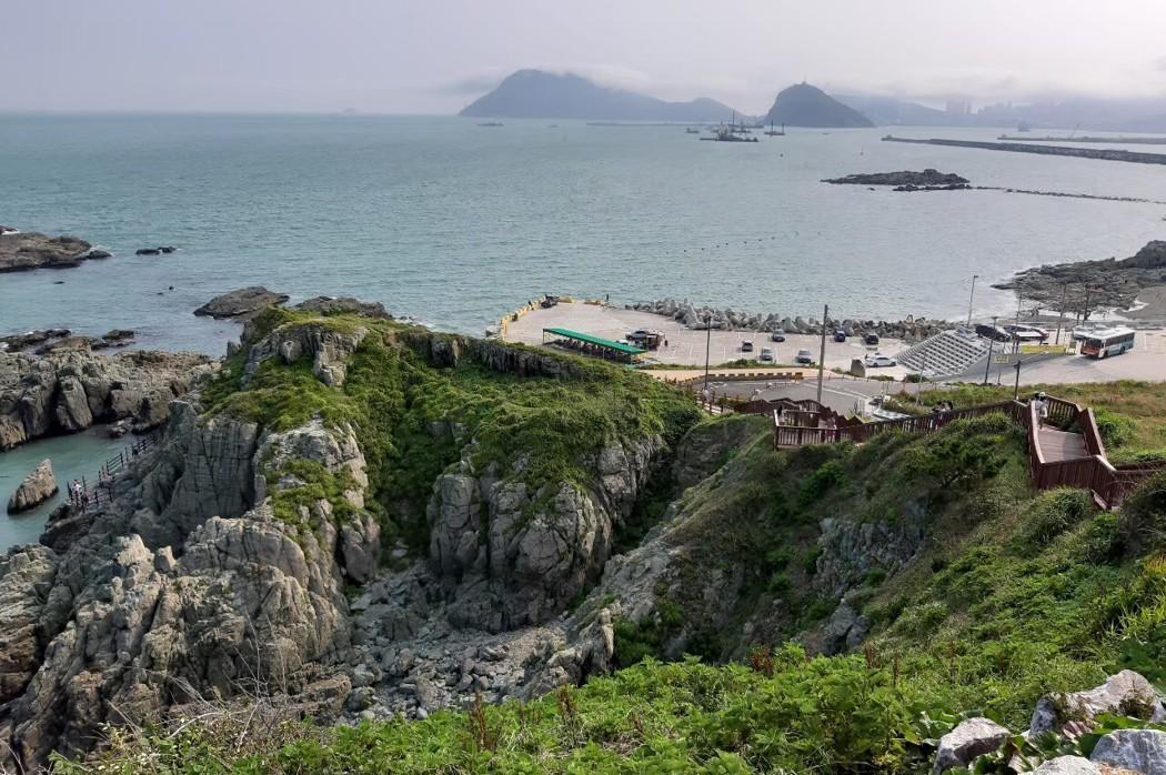 韓國釜山/五六島天空步道