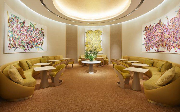 和日本個性名廚須賀洋介合作的Le Café V咖啡廳。圖/LV提供