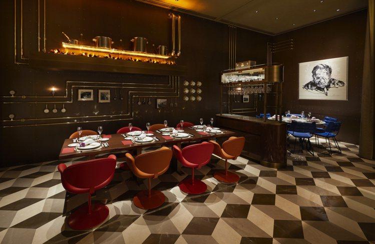 路易威登和日本名廚須賀洋介合作,開設首家餐廳Sugalabo V。圖/LV提供