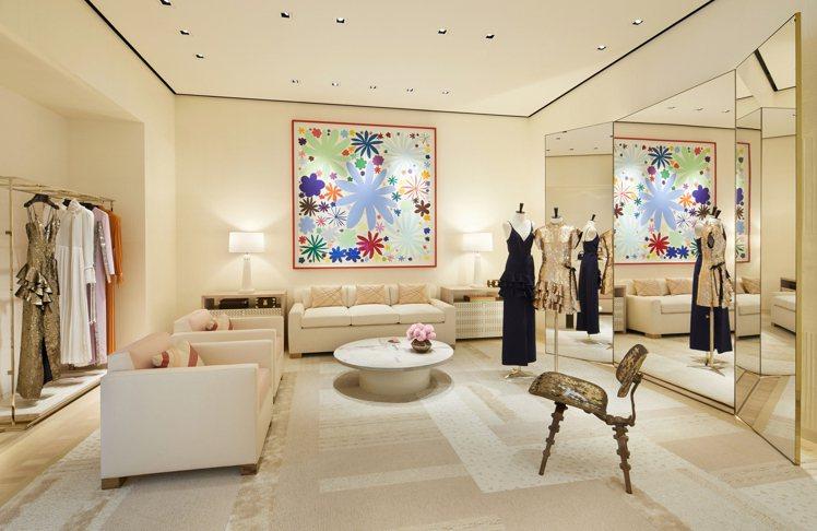 大阪御堂筋旗艦店3樓是全系列女裝與配件。圖/LV提供