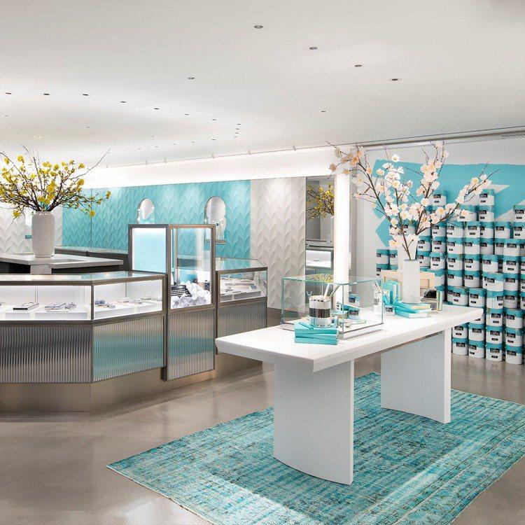 設計師採用品牌的各種經典元素來裝飾Tiffany Flagship Next D...