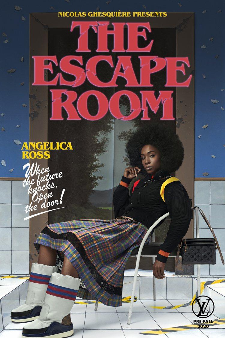 安傑莉羅斯(Angelica Ross)詮釋未來前來敲門的「密弒遊戲」,結合運動...