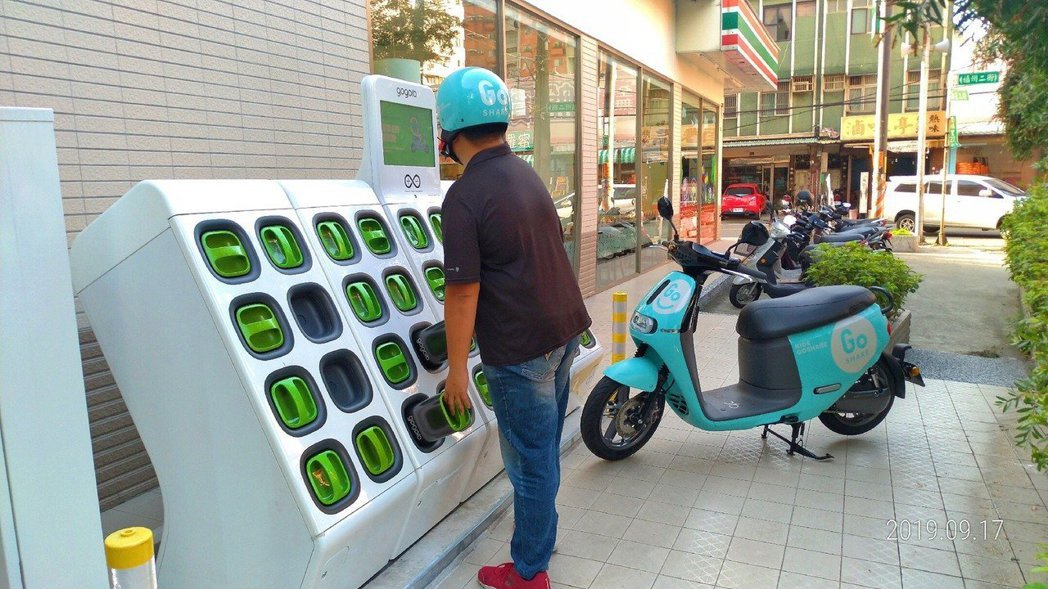 電動機車Gogoro因主打環保受大眾喜愛。圖/新北市交通局提供