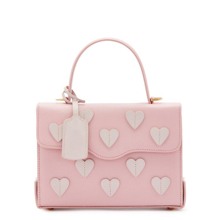 PINK LOVE公事包,18,800元。圖/LULU GUINNESS提供