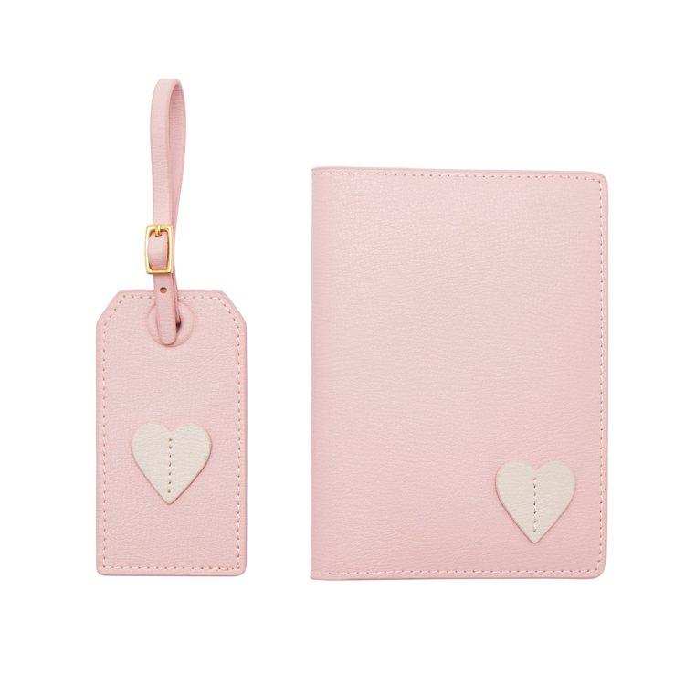 PINK LOVE護照夾,3,980元。圖/LULU GUINNESS提供