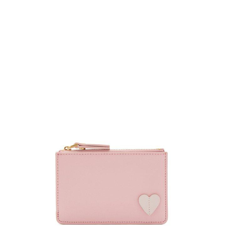 PINK LOVE零錢包,3,980元。圖/LULU GUINNESS提供