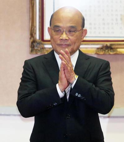 針對武漢肺炎疫情,行政院長蘇貞昌要求各部會及各地方政府首長,做好「防疫視同作戰」的中長期準備。 圖/聯合報系資料照片