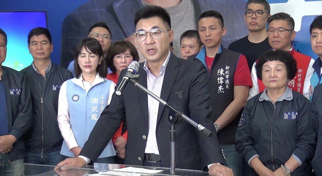 立委江啟臣參加國民黨主席補選。記者陳宏睿/攝影
