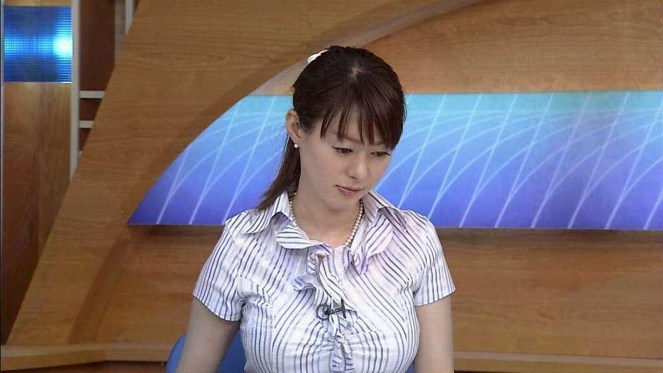 竹中知華在電視台播報時,因為上圍太過豐滿,導致觀眾罵聲連連。 圖擷自threadstopper網站