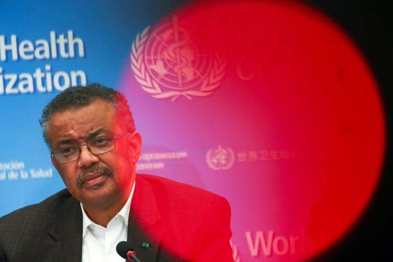 WHO秘書長譚德塞,於2017年由中共扶植的「非洲聯盟」多國代表支持上任。 圖/路透社