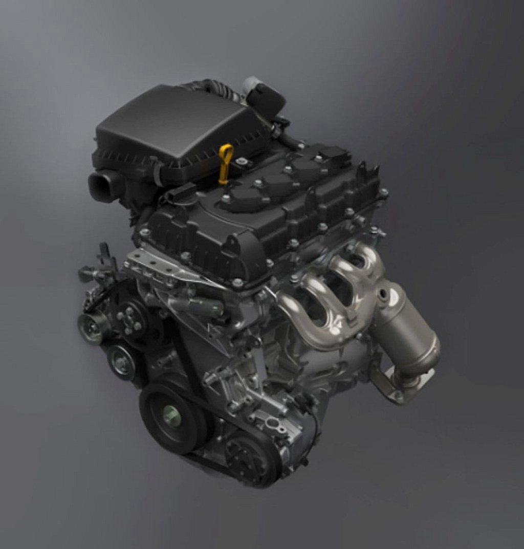 Suzuki Jimny搭載的1.5L汽油引擎,因為沒有任何Hybrid複合動力...