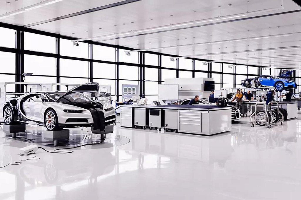 Bugatti Chiron生產計畫將持續到2021年底,問世當時所制定的500...